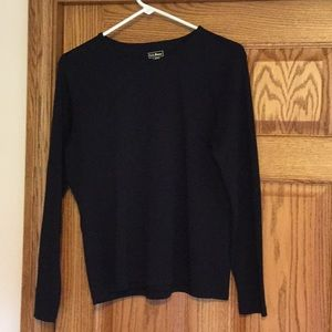 Preowned Women's 100% Cotton LL Bean Long Sleeve
